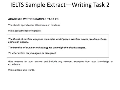Ielts Writing Task 2 Vocabulary