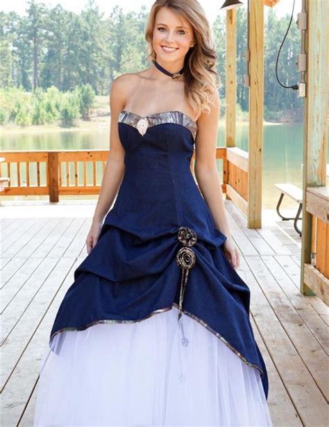 white  royal blue wedding dresses   bb fashion