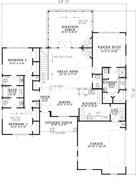 canyon creek rustic ranch home plan   house plans
