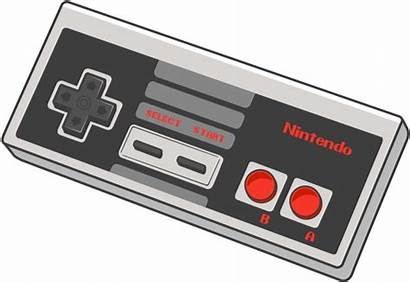 Controller Nintendo Clipart Drawing Nes Clipground