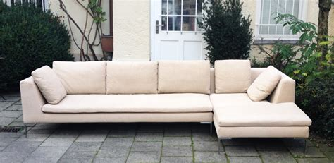 canapé b b italia b b italia charles sofa schlicht designmöbel