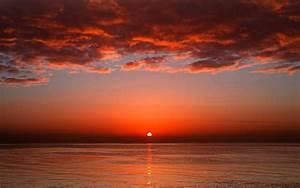 Bloody sunset 4k uhd widescreen wallpaper - HD Wallpapers