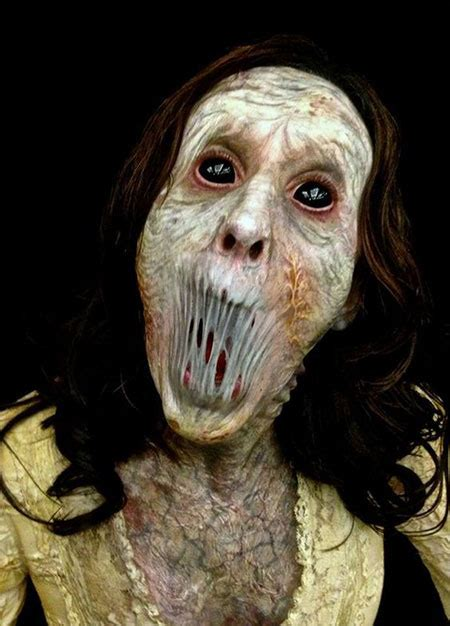 Scary Images 30 Scary Make Up Looks Trends Ideas 2016