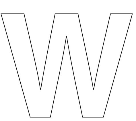 large printable cut  letters letter