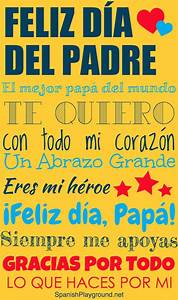 Día del Padre Printable Posters - Spanish Playground