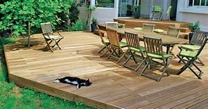Holz Für Die Terrasse : der richtige belag f r die holzterrasse mein sch ner garten ~ Markanthonyermac.com Haus und Dekorationen