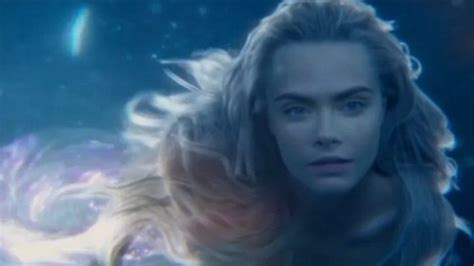 Cara Delevingne Plays A Magical Mermaid In New Pan Trailer