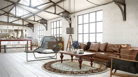 Chic Living Room Decorating Ideas And Design 7 Chic: Industrial Chic Living Room Design Ideas