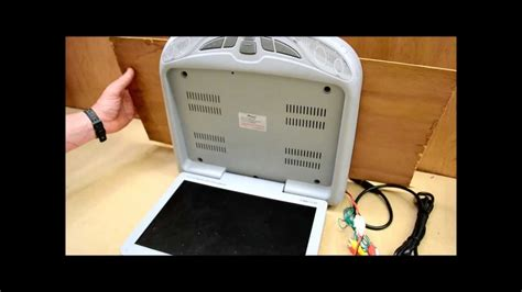 how to mount a flip tv dvd monitor
