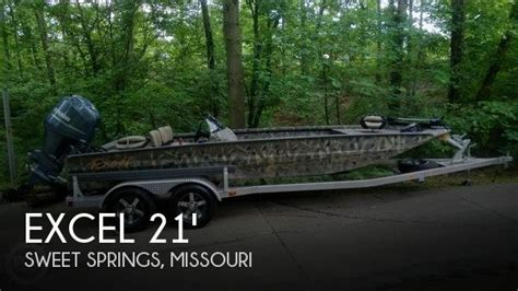 Excel Boats For Sale Missouri by Sold Excel Stalker 2172 Sc Boat In Sweet Springs Mo 133652