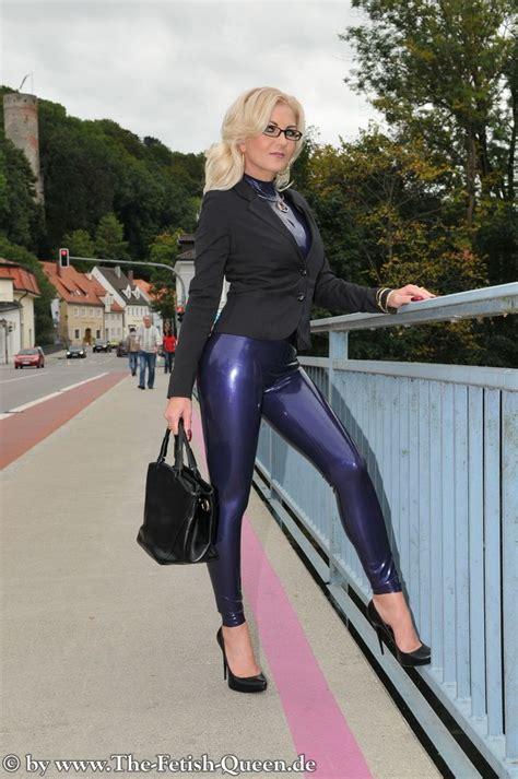 pin  leather  latex leggings