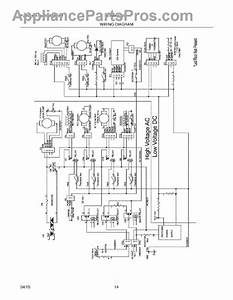 Parts For Electrolux Eidw6105gs1a  Wiring Diagram Parts