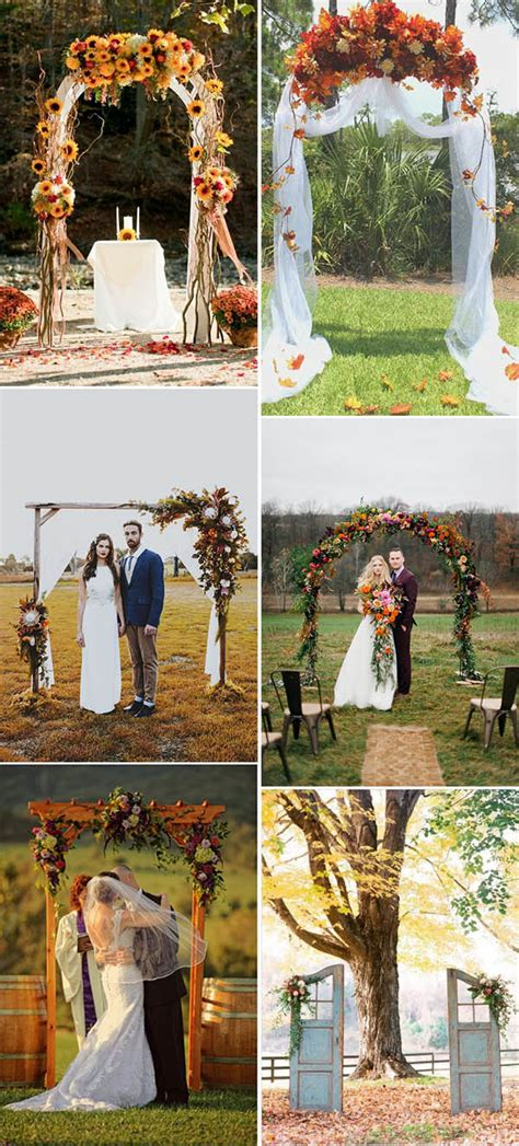 Ten Beautiful Fall Wedding Invitations To Match Your