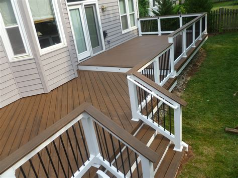 composite deck ideas exterior design interesting azek decking for deck ideas deck ideas pinterest grey