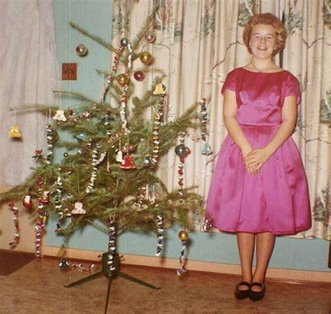 funny awkward family christmas  vintage