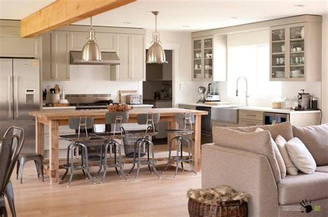 kitchen island plans with seating vintage open kitchen with big windows along with wooden