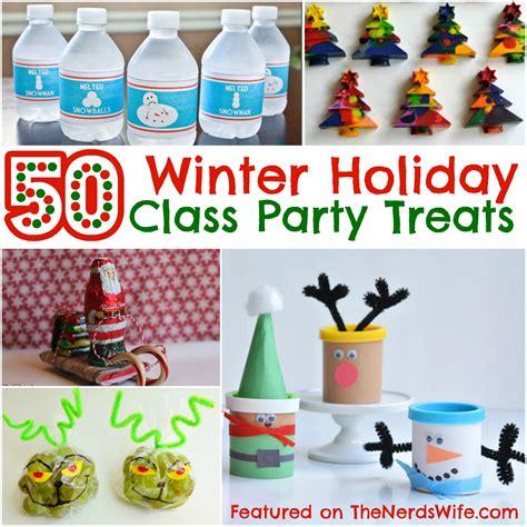 christmas class party ideas 50 winter class treats