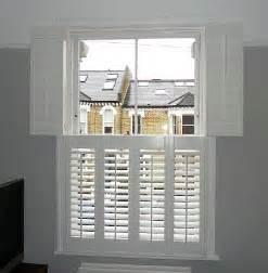 Wooden Window Shutters Interior