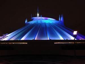 Disneyland Resort images space mountain at night HD ...