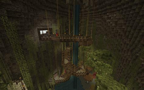 Minecraft Cave House
