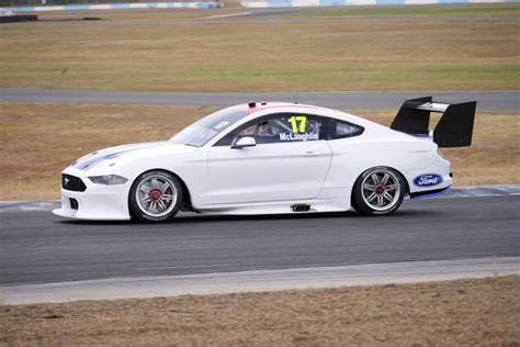 mclaughlin successfully completes mustang shakedown