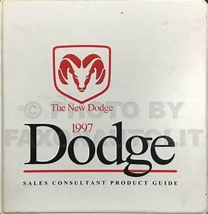 1997 Dodge Ram Van  U0026 Wagon Repair Shop Manual Original