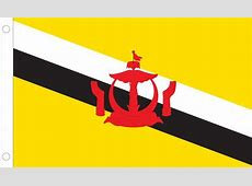 Brunei World Flags Nylon & Polyester 2' x 3' to 5' x 8'