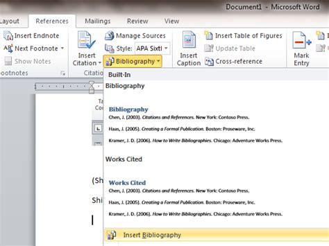 tutorial membuat rujukan format  menggunakan microsoft