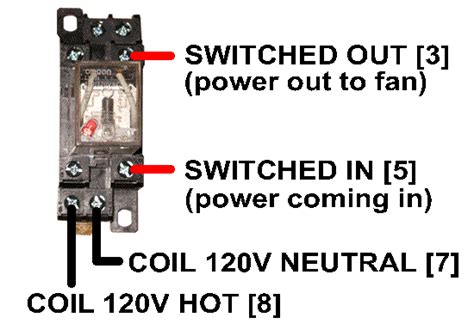 Hvac Fan Relay Wiring by Hvacquick How To S Wiring Generic 120v Coil Relay
