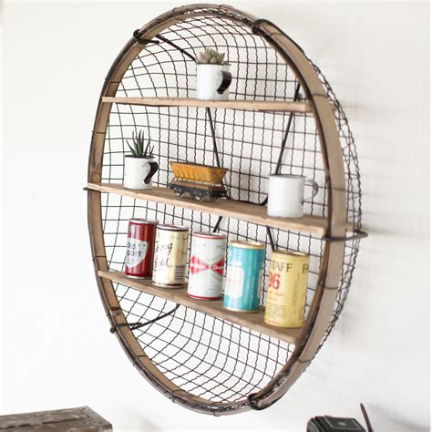 wire basket wall shelf cmx