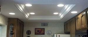Lighting To Replace Fluorescent Kitchen Fixture In