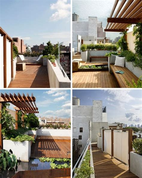 top decks in modern oasis rustic modern rooftop garden deck design