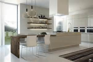 kitchen island with dining table mesas de cocina o comedor de diseño moderno tendencias