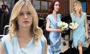 Jerry Hall's daughters Georgia May and Elizabeth Jagger ...