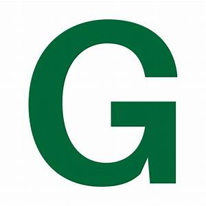 Limited Edition  Exclusive Green Letter G