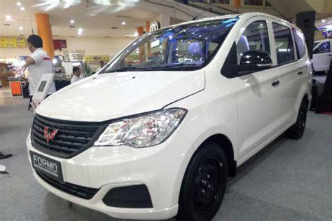 Wuling Formo Photo wuling motors merambah segmen light commercial vehicle