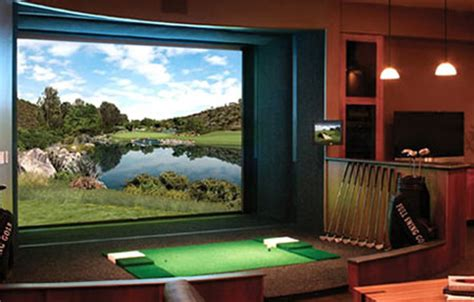 55 000 full swing golf simulator loves being at home