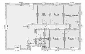 maison plain pied 130 m2 zq16 jornalagora With nice plan appartement 150 m2 5 plan maison 4 chambres 130m2