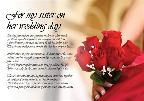 Quotes For Sister On Her Wedding Day