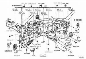 Lexus Ls 400 Wire  Engine  No  2  Clamp
