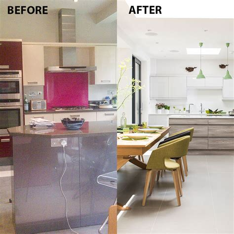 Zimmer Abtrennen Ideen by Before And After From Separate Rooms To Open Plan