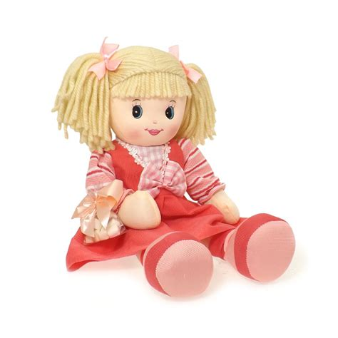 baby birthday dress rag doll