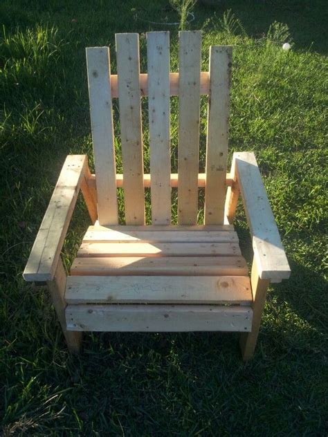 big adirondack chair 25 5 quot wide 2x4 2x6 contruction