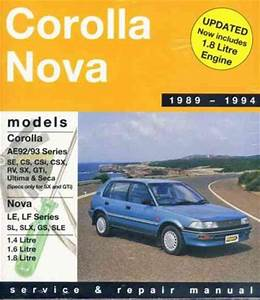 2003 Corolla Manual Volumn 1