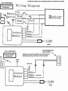 Garage Beam Photocell Circuit Diagram