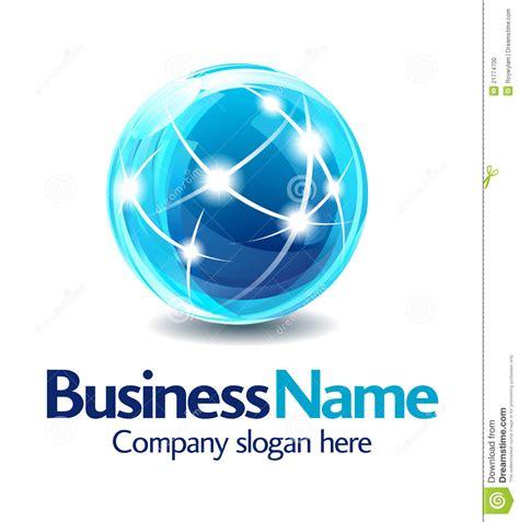 company logo design business logo design 3d stock vector illustration of