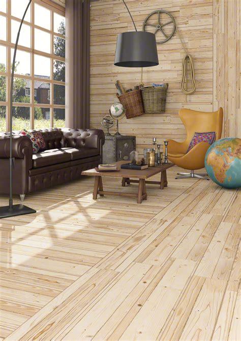 wood  tile  distressed rustic modern ideas