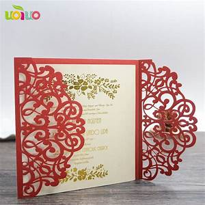 free shipping red bengali wedding invitation card arabic With wedding invitation cards rustenburg
