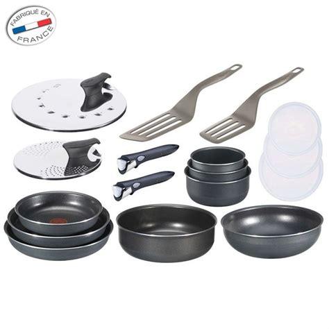 batterie cuisine tefal ingenio induction tefal ingenio set 17 pièces antiadhesif achat vente batterie de cuisine tefal ingenio set 17