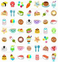 Cute Kawaii Food With Faces